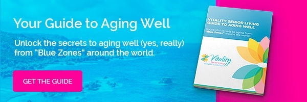 senior living guide to aging well