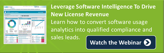 Webinar - Drive New License Revenue with Software Intelligence