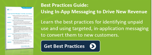Best Practices for Using In-App Messaging  to Drive New License Revenue