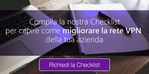 checklist valutazione vpn