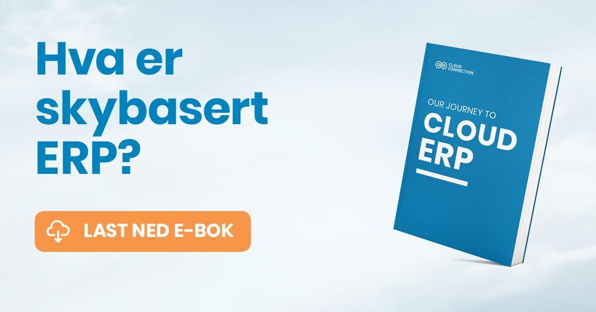 Hva er skybasert ERP? Last ned ebok
