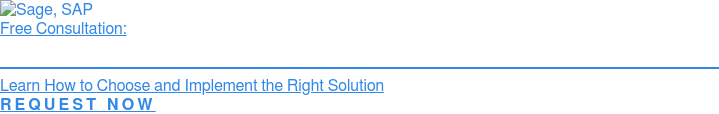 Free Consultation:  Select The Right SAP ERP Software For Your Business  Learn How To Choose And Implement The Best Solution  » Request My Consultation Now