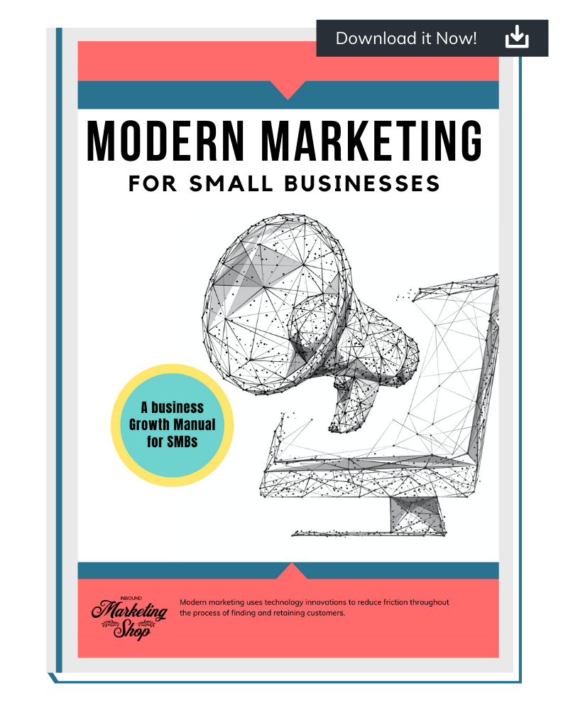 Click to download Modern Marketing for Small Businesses