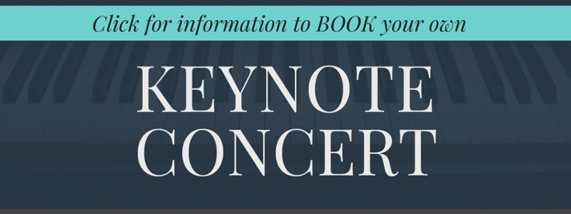 click to learn more about booking a custom keynote concert