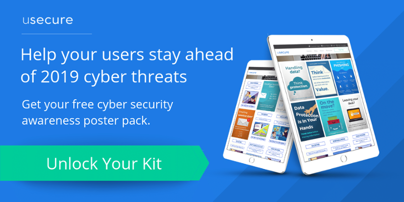 Cyber security awareness poster pack