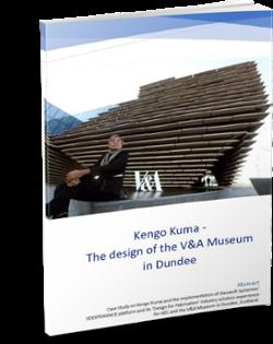 Kengo Kuma, V&A Museum - AEC case study with 3DEXPERIENCE CATIA platform