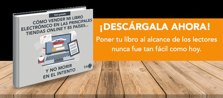 Descarga gratis la guía Ink it para publicar tu libro en las principales tiendas