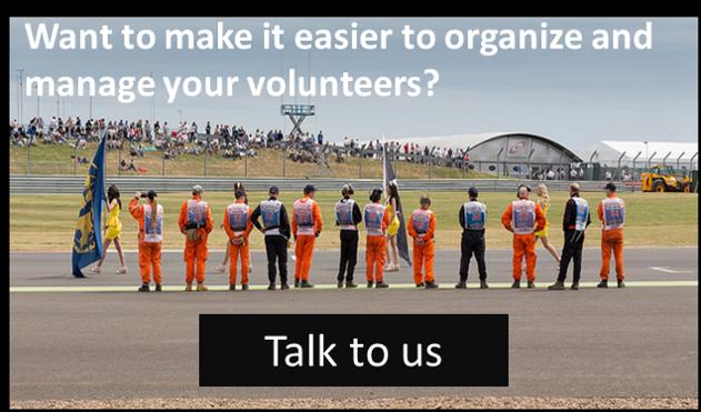 Online volunteer registration
