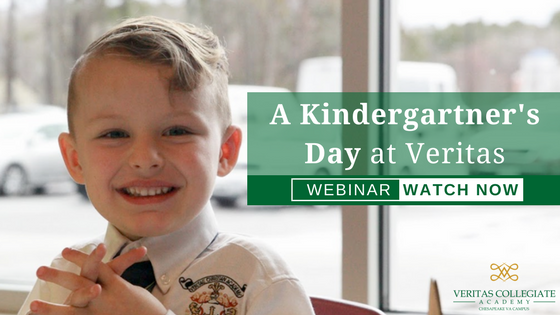A Kindergartner's Day at Veritas