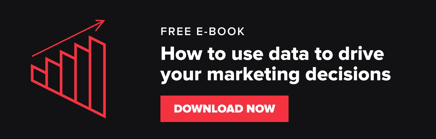 how to make data driven marketing decisions