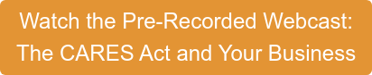 Watch the Pre-Recorded Webcast: The CARES Act and Your Business