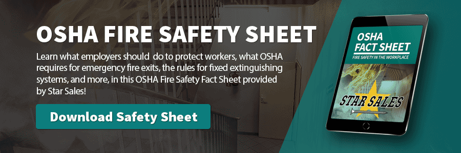 Download the Star Sales OSHA Safety informational sheet