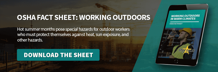 Download the OSHA safety sheet
