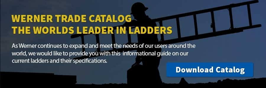Werner Ladder Trade Catalog CTA