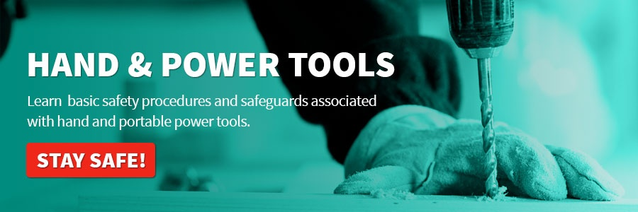 Hand and Power Tools Call to Action