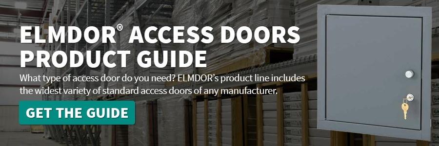 Elmdor Access Doors Product Guide CTA