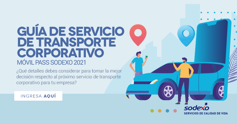 Guía de servicio de transporte corporativo Móvil Pass Sodexo 2021