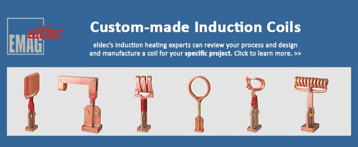 Call eldec at 248-364-4750 or click for more on custom-made induction coils.