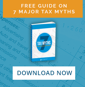 Learn about the 7 Tax Myths Your Should Leave Behind