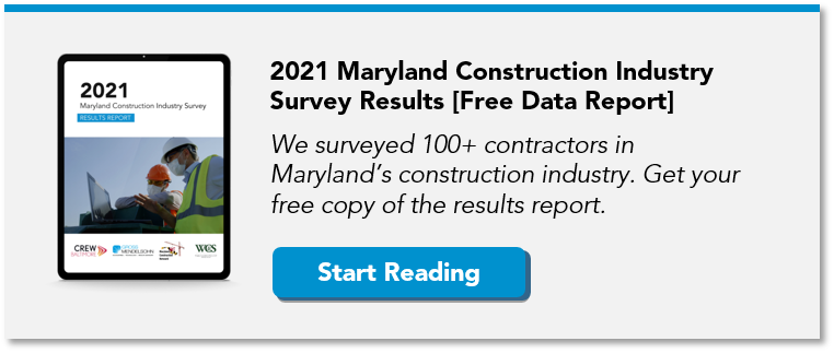 2021 Maryland Construction Industry Survey Results Report