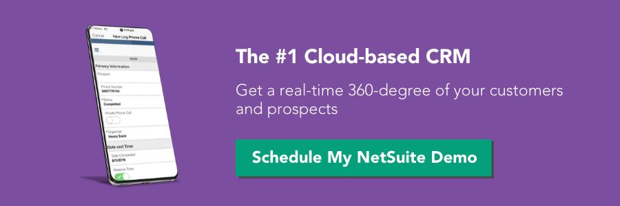 Schedule My NetSuite Demo