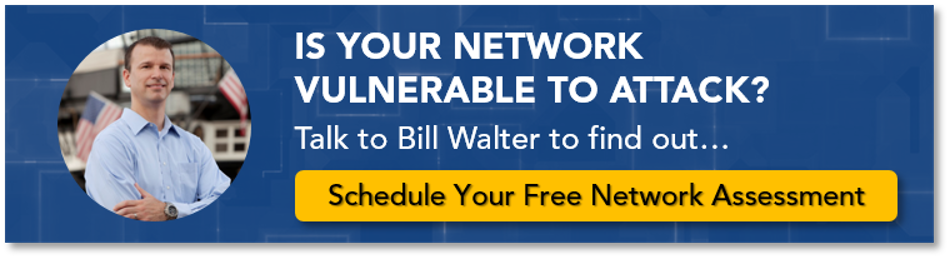 Request Your Network Assessment With Bill Walter