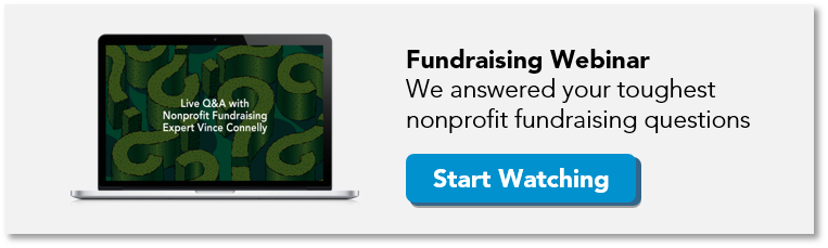 Free nonprofit fundraising webinar