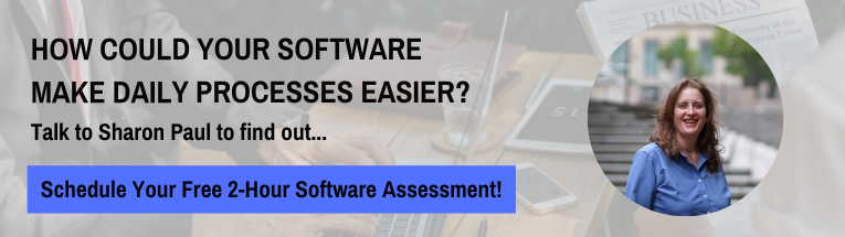 Free software assessment with sharon paul