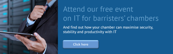 Attend our free event on IT for barristers' chambers