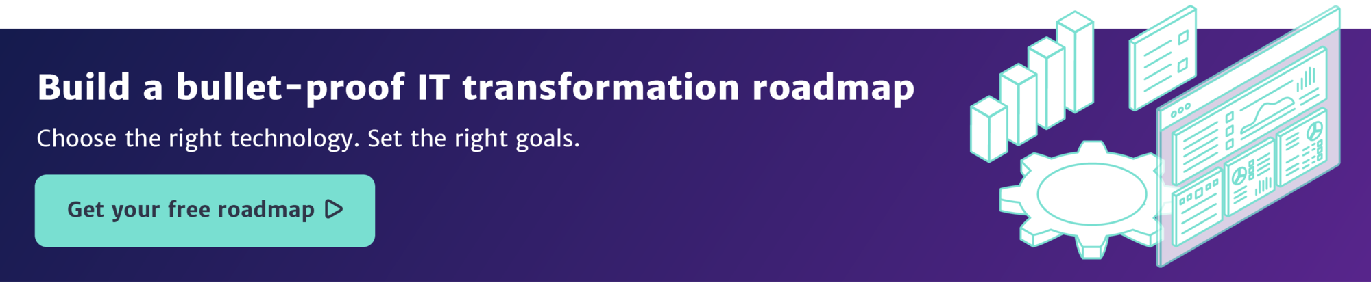 IT transformation roadmap CTA wide