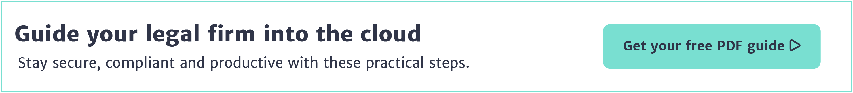 Free whitepaper: A guide to cloud for legal professionals >