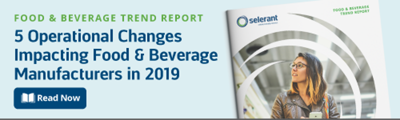 Selerant PLM food and beverage trends