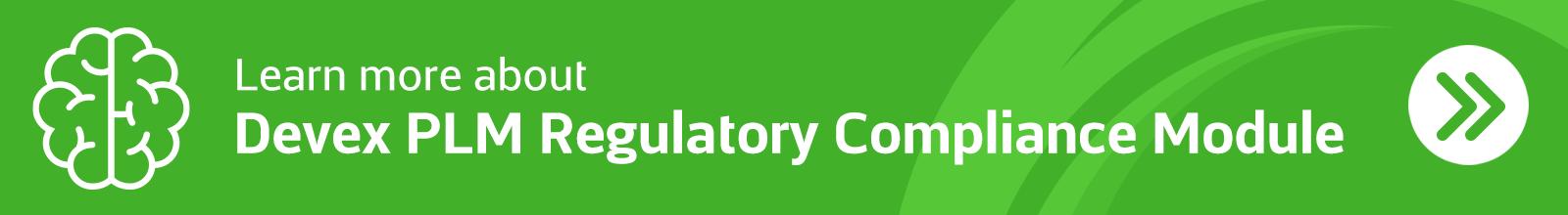 Devex-PLM-regulatory-compliance