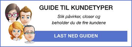 guide til kundetyper