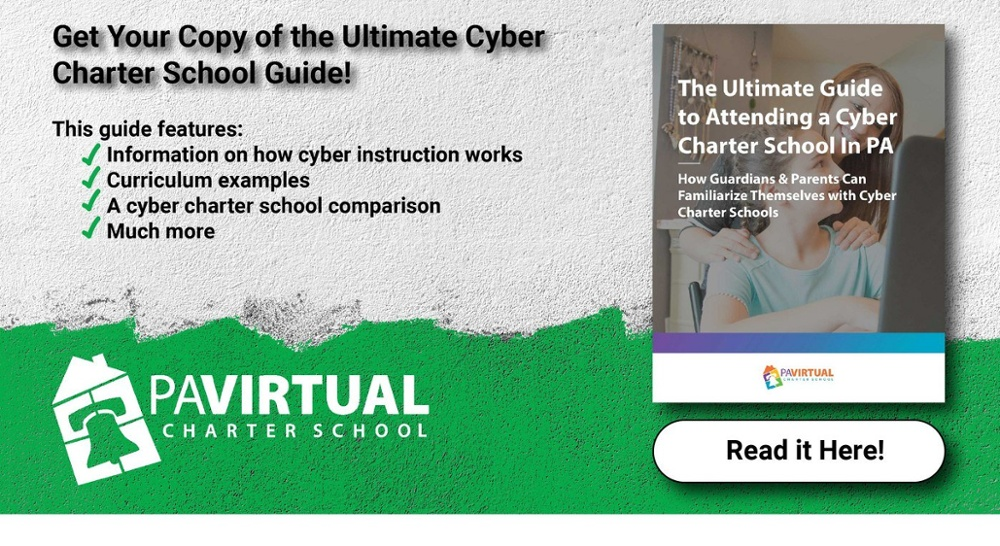 Get your copy of the Ultimate Guide to Attending Cyber Charters in PA by clicking here