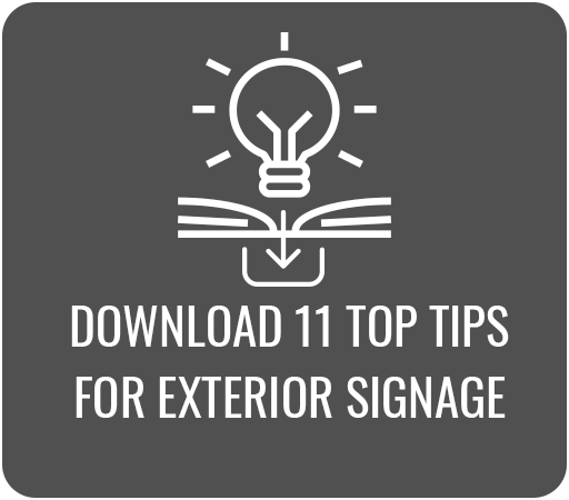 Download 11 Top Tips for  Exterior Signage