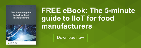 The 5 minute guide to IIoT for food manufacturers