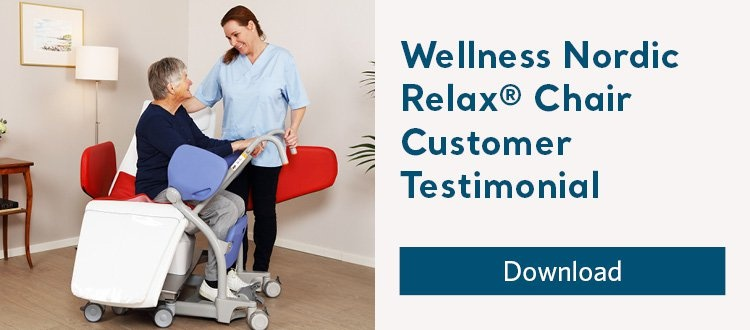 Wellness Nordic Relax Chair Customer testimonial