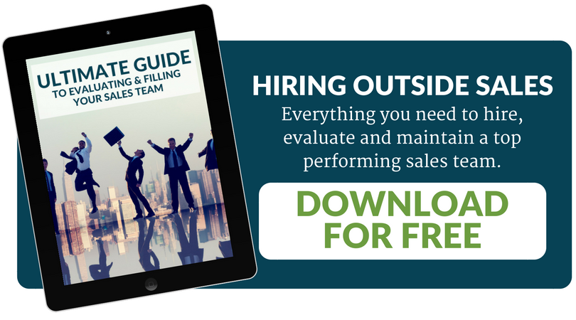 Ultimate guide to hiring outside sales