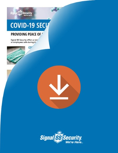 Signal 88 Security COVID-19 services