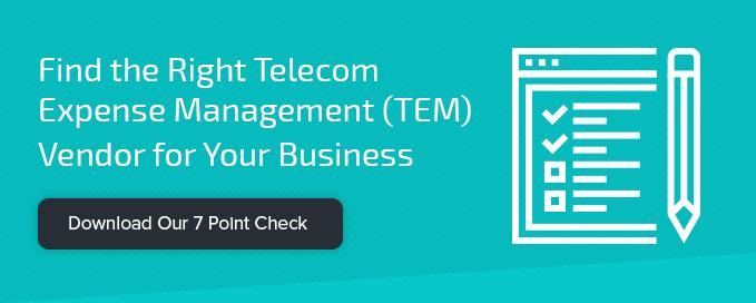 Find the Right Telecom Expense Management (TEM) Vendor