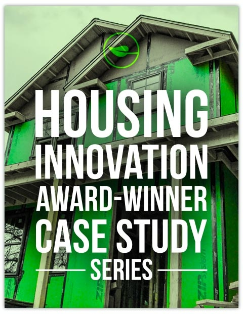 Download our complete series of Housing Innovation Award winner case studies