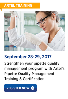 Pipette Quality Management Certification & Training