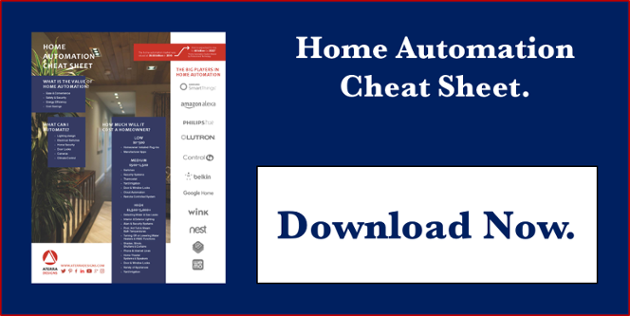 home automation cheat sheet download now