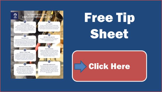 Download employee retention tip sheet