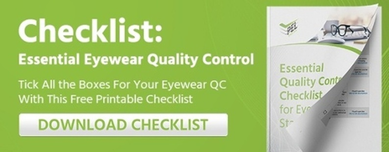 Essential Eyewear QC Inspection Checklist