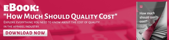 The cost of quality and the consequences of poor quality management in the apparel industry