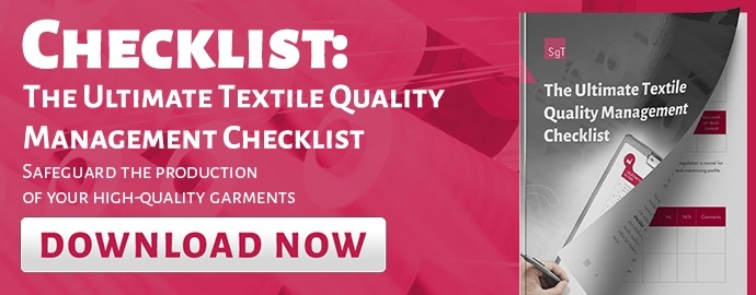 The ultimate textile Quality management checklist