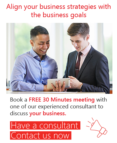 Align your business strategies with the business goals
