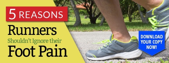 5 Reasons Runner Shouldn't Ignore Their Foot Pain- eBook
